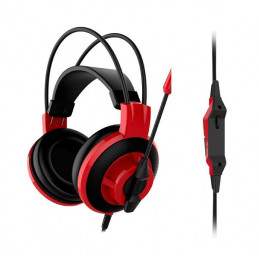 Auriculares Gaming MSI DS501, 40mm, 3.5mm, microfono, control en linea