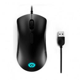 Mouse Lenovo Gamer Legion M300 RGB, Resolucion optica hasta 8000dpi, LED RGB, USB, Negro