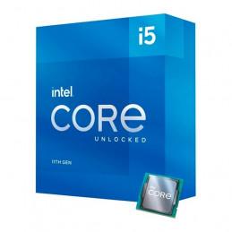 Procesador Intel Core i5-11600K 3.90 / 4.90 GHz, 12 MB Caché L3, LGA1200, 125W, 14nm