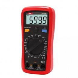 Multimetro Digital UNI-T UT-133B ACDC600V NCV 10A Resistencia Capacitancia