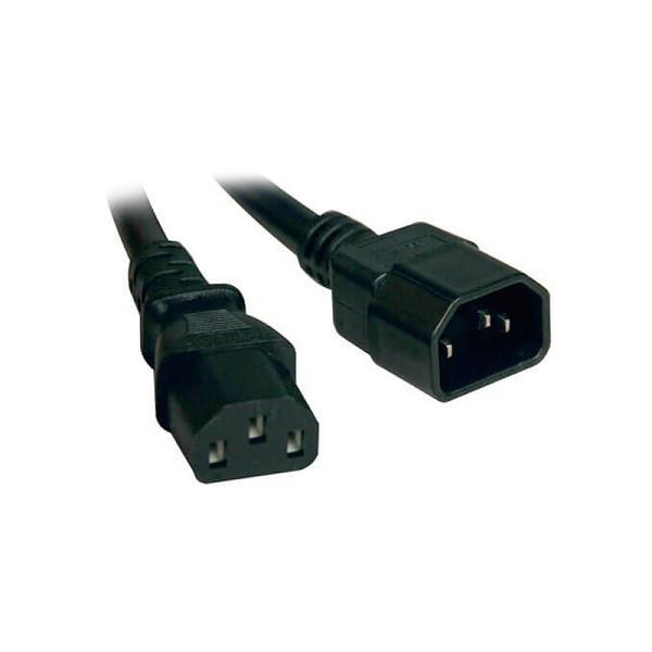 Cable de poder Tripp-Lite P004-008, C14 a C13, Estilo PDU, 10A, 250V, 18 AWG, 2.44mts