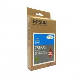 Cartucho de Tinta Epson T788XXL, DuraBrite Pro, Cyan, para WorkForce Pro WF-5690/5190