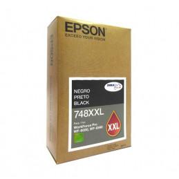 Cartucho de Tinta Color Negro, Extra Alta Capacidad, Epson 748XXL
