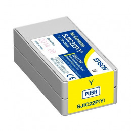 Cartucho de Tinta EPSON color Amarillo para impresoras Epson TM-C3500