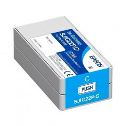 Cartucho de Tinta EPSON color Cian para impresoras Epson TM-C3500