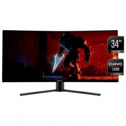 """Monitor Teros TE-7250, 34"""" VA UWQHD Curvo, 144 Hz, 3440 x 1440, WQHD, HDMI / DisplayPort"""