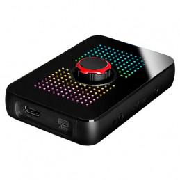 Dispositivo de captura EVGA XR1, certificado para OBS, USB 3.0, 4K, ARGB, Audio Mixer