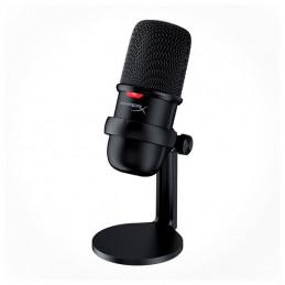 Micrófono Kingston HyperX SoloCast, USB 2.0, Negro