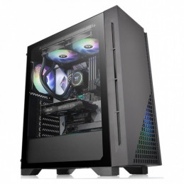 Case Thermaltake H330 600W Tempered Glass Mid-Tower Chassis CA-3R8-60M1WU-00