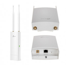 Access Point TP-Link EAP110-Outdoor, 300 Mbps, 2.4 GHz, 802.11b/g/n, 3dBi, PoE.