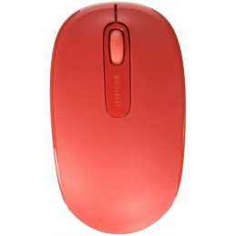 Mouse Inalambrico Microsoft Mouse 1850 Mobile U7Z-00038 Red