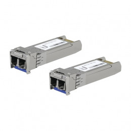 Modulo UFiber Ubiquiti UF-SM-10G 10km LC 2Piezas SFP+ 10G Single-mode transceptor MiniGibic