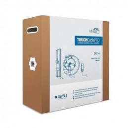 Cable ToughCable Ubiquiti TC-PRO CAT5E 305m STP Negro 24AWG Blindado Gigabit ESD26AWG UV