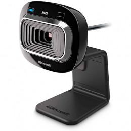 Camara de Videoconferencia Microsoft LifeCam HD-3000 for Business, HD 720p, CMOS Sensor