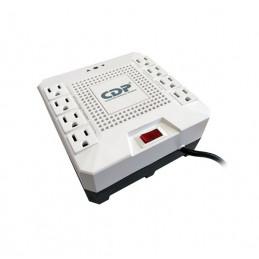 Regulador de voltaje CDP RC-AVR pro 1808i, 1800VA, 1000W, 220V, 8 tomacorrientes