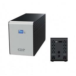 UPS CDP R-Smart 1210i, interactivo, 1200VA, 720W, 220V, 10 tomacorrientes