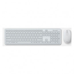 Kit de Teclado + Mouse Microsoft Bluetooth Desktop en español, Color Glacier, Retail