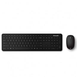 Kit de Teclado + Mouse Microsoft Bluetooth Desktop en español, Color Negro, Retail
