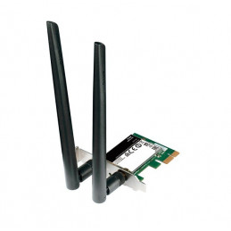 Tarjeta Wireless D-Link DWA-582 AC1200 Dual Band, 2.4 / 5 GHz, 802.11 b/g/n/ac, PCI-E x1
