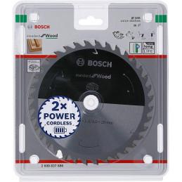 Discos de sierra Standard 165mm x20x1.5mm D36, Bosch 2608837686