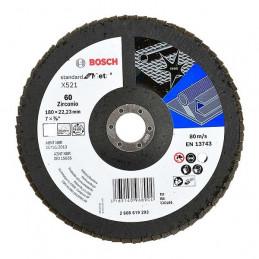 Disco Flap ECO 180mm Gr60, para Inox/Metal, Bosch 2608619293