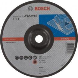 Disco de Desbaste Standard 180x6x22.23mm para Metal, Bosch 2608619744