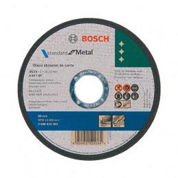Disco de Corte Standard 115x1.6x22.23mm para Inox, Bosch 2608619742