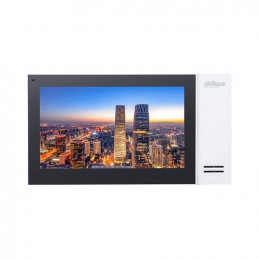 "Panel Monitor IP Video Portero Dahua VTH2421FW-P LCD 7"" Tactil H.264 Poe Blanco"