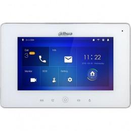 "Panel Monitor IP Video Portero Dahua VTH5221DW-S2 LCD 7"" Tactil Poe Blanco"
