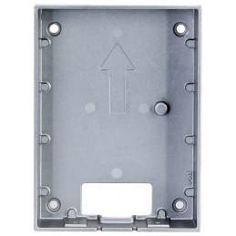 Caja de Montaje en Pared Aluminio Comaptible VDP VTO2202F, Dahua VTM115