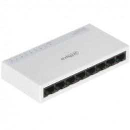 Switch 8Port 10/100 MBPS Capa2, Dahua PFS3008-8ET-L