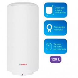 Terma Electrica Bosch Basic 80 Litros 1.5kw, Protecion IPX4 con dos sistemas de seguridad y control de temperatura