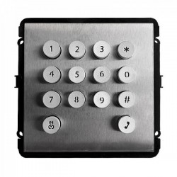 Teclado Numerico IP VDP OutDoor Unlock by password, braille keypad, Stainless IP54,IK08, Dahua VTO2000A-K(V2)