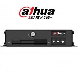 Grabador XVR Vehicular Dahua MXVR1004-GF FHD Modulo GPS GSM 4G 4CH FD, H.265
