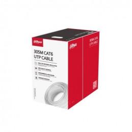 Cable UTP CAT6 305m 99.97% IEC 60332-1-2 CPR Eca, Dahua PFM920I-6UN-C