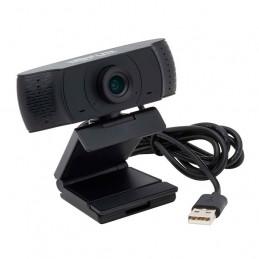 Camara Web USB Tripp-Lite AWC-001 HD 1080p con Micrófono para Laptops y PCs de Escritorio.