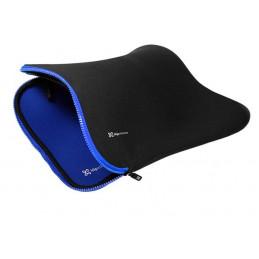 "Fundas para Laptop Klip Xtreme KSN-115BL Neopreno Reversible 15.6"" Black Blue"