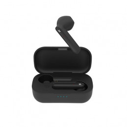 Auricular Inalambrico Klip Xtreme KTE-005BK Litetouch tws Earphones Bluetooth con mic Negro