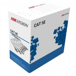 Cable de red UTP Hikvision DS-1LN5E-E/E CAT.5e Indoor CMX 305m PVC Grey