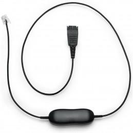 Cable para auriculares Avaya Jabra GN1216 SmartCord 88001-03