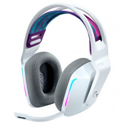 Auricular On-Ear Inalambrico Logitech G733 Lightspeed Wireless RGB 7.1 canales Blanco 981-000882