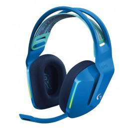 Auricular On-Ear Inalambrico Logitech G733 Lightspeed Wireless RGB 7.1 canales Azul 981-000942