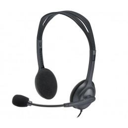 Auricular On-Ear Logitech Stereo H111 con mic 3.5mm 981-000612