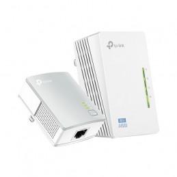 Kit Extensor Powerline WiFi Tp-Link AV500, 300Mbps Dual Band, 802.11abgn 2Puertos TL-WPA4220KIT