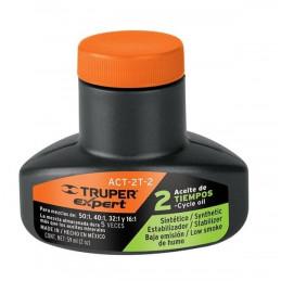 Aceite Sintetico 60ml 2oz Para 3L Gasolina motor 2 Tiempos Motos Desbrozadoras Motosierras, Truper ACES-2 14991