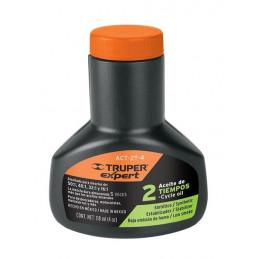 Aceite Sintetico 100ml 3oz Para 5L Gasolina motor 2 Tiempos Motos Desbrozadoras Motosierras, Truper ACES-5 17624