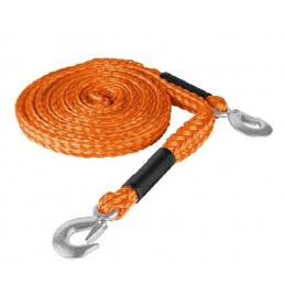 Cuerda Soga para Remolque 4.5m x 27mm con Gancho 2000kg, Truper CREM-7/8X45 18346