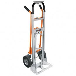 Carreta de Carga 350kg Convertible Aluminio Robusto 3en1 Diablo, Truper 16188