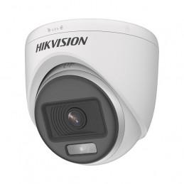 Camara Domo HikVision DS-2CE70DF0T-PF 2MP 2.8mm ColorVu Indoor 3D DNR