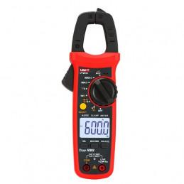 Pinza Amperimetrica digital UNI-T UT204+ True RMS NCV AC/DC600V 600A